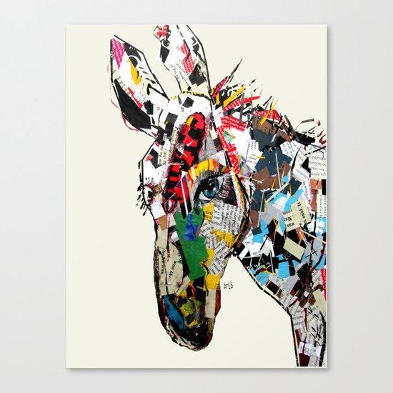 the mod donkey Canvas Print