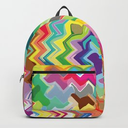 Colorful Abstract Backpack