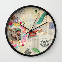 From India with Love Wall Clock