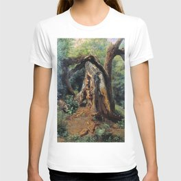 An Old Tree 1859 By Lev Lagorio | Reproduction | Russian Romanticism Painter T-shirt