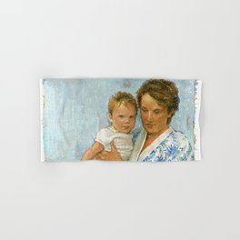 mother and child 2 Hand & Bath Towel