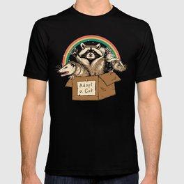 Adopt Forbidden Cats T-shirt