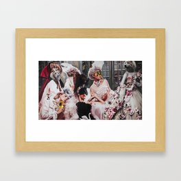 """"""" The wolf wears Dolce and Gabbana"""" Framed Art Print"""