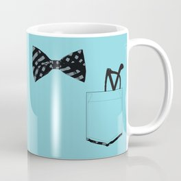 Bow tie and pocket Coffee Mug