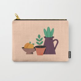 Minimal Plant Still Life Carry-All Pouch