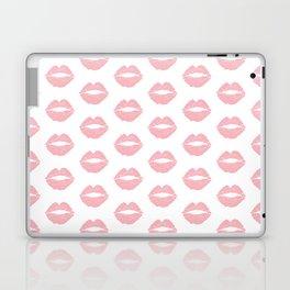 Coral Lips Laptop & iPad Skin