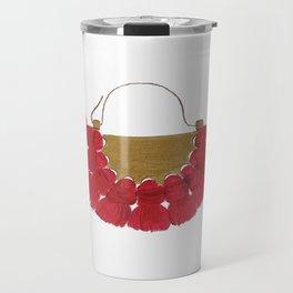 R E D Travel Mug