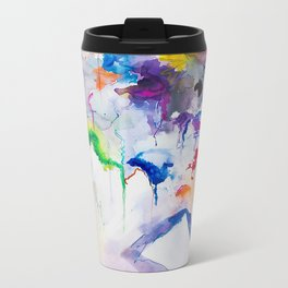 Mixed Emotions Metal Travel Mug