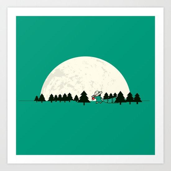 Christmas the 25th Art Print