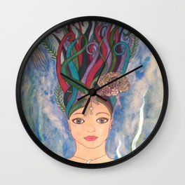 Daughter of the Deep Wall Clock