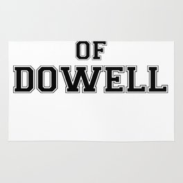 Property of DOWELL Rug
