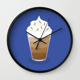 Hot Chocolat - Chocolat chaud Wall Clock
