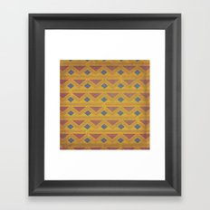 King of the Mountain Cometh Framed Art Print