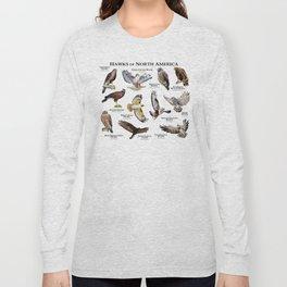 Hawks of North America Long Sleeve T-shirt