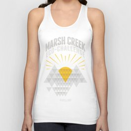 Marsh Creek Eco-Challenge 2015; Shirt Art Unisex Tank Top