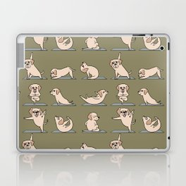 Labrador Retriever Yoga Laptop & iPad Skin