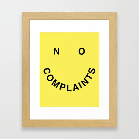 No Complaints Yellow + Black by subliming