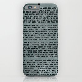 IF iPhone Case