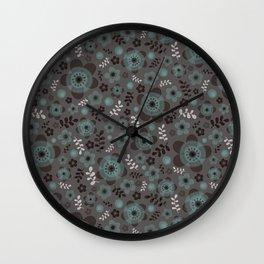 miniflower -3 Wall Clock