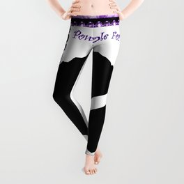 Power Purple For a Cure - Thinking Of You Leggings