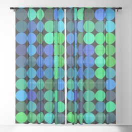 every color 046 Sheer Curtain