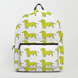 Doxie Love - Lime Backpack