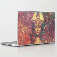queen Laptop & iPad Skins featuring Queen by Nechifor Ionut