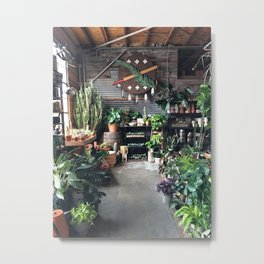 At the Plant Shoppe in Oklahoma City Metal Print