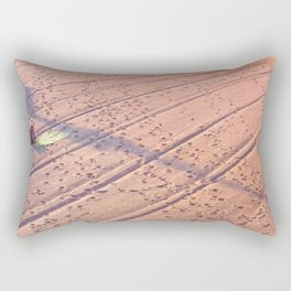 Beach in French Riviera shortly after sunrise in summer Rectangular Pillow