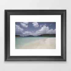 Cinnamon Bay Framed Art Print