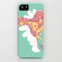 Lovely Giraffe 1 iPhone Case