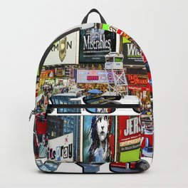 Times Square  NYC Backpack