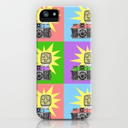 Let's warholize...and say cheese! iPhone Case