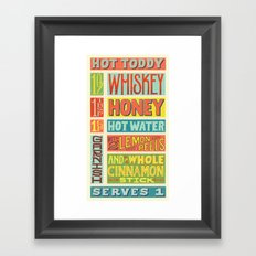 Hot Toddy Framed Art Print