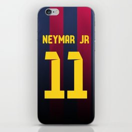Neymar Jr. Jersey iPhone Skin
