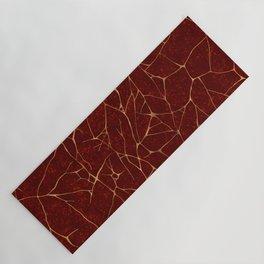 Kintsugi Red Yoga Mat