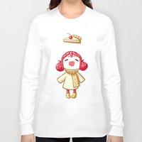 pie Long Sleeve T-shirts featuring Cherry Pie by Freeminds