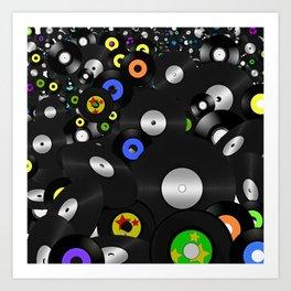 Forever Vinyl Art Print