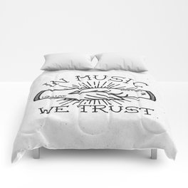 In Music We Trust Comforters