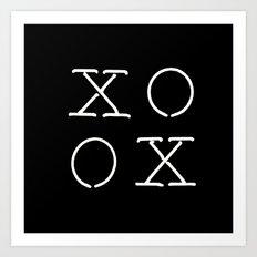 XOXO Art Print