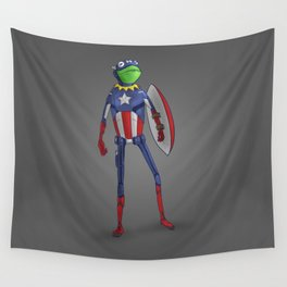 Captain Kermit Wall Tapestry