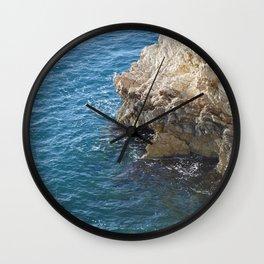 Albanian Cliffs Wall Clock