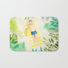 Holiday feeling Bath Mat