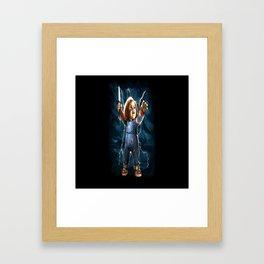 Chucky! Framed Art Print