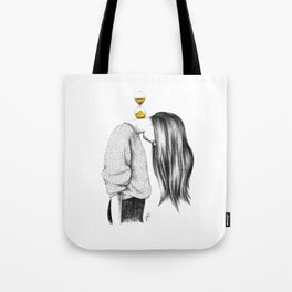 Weight of Time Tote Bag