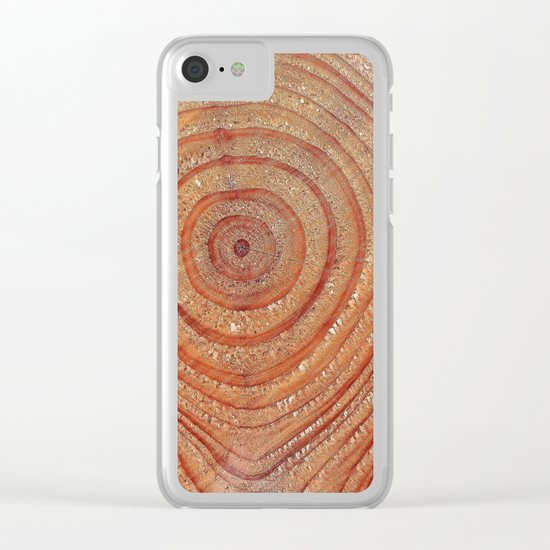 Rings Clear iPhone Case