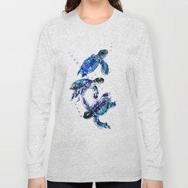 Three Sea Turtles Long Sleeve T-shirt
