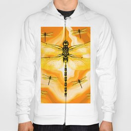 DRAGONFLY IN AGATE Hoody