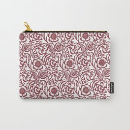 """William Morris """"Floral"""" Carry-All Pouch"""