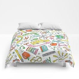 School Is Cool Comforters